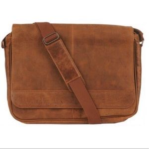 Wilsons leather vacqueta satchel genuine leather